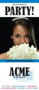 Sweet 16 Brochure for DJs