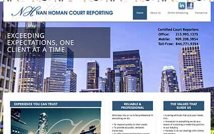 Court Reporter Website