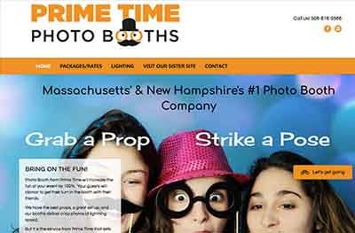 Photo Booth Website