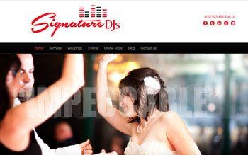 DJ Websites
